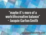 work-life-creative balance